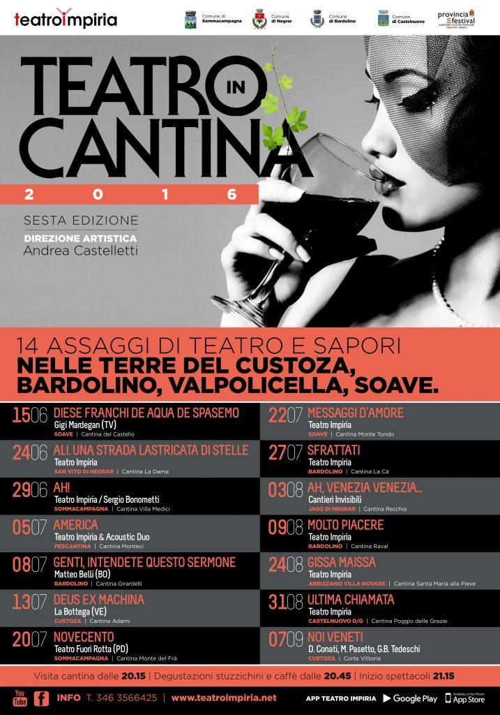 LOCANDINA Teatro in Cantina 2016