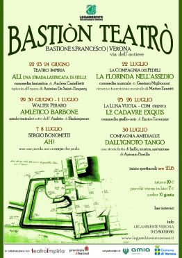 Bastion Teatro Impiria Verona Legambiente