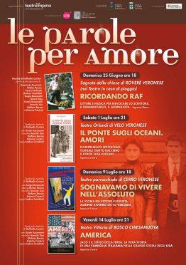 Le Parole per Amore Teatro Impiria Lessinia Verona